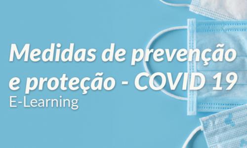Medidas de Prevenção e Proteção – COVID 19 (4 horas)